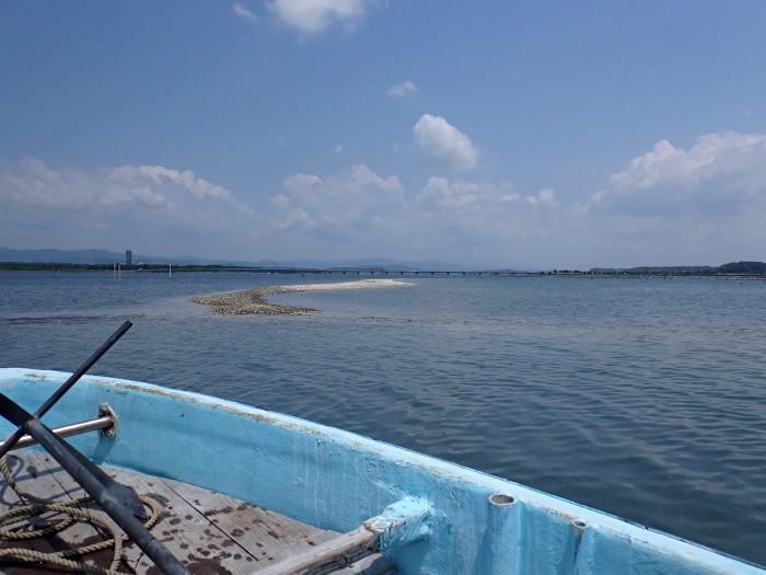 真夏の浜名湖で初心者育成_c0120834_08311636.jpg