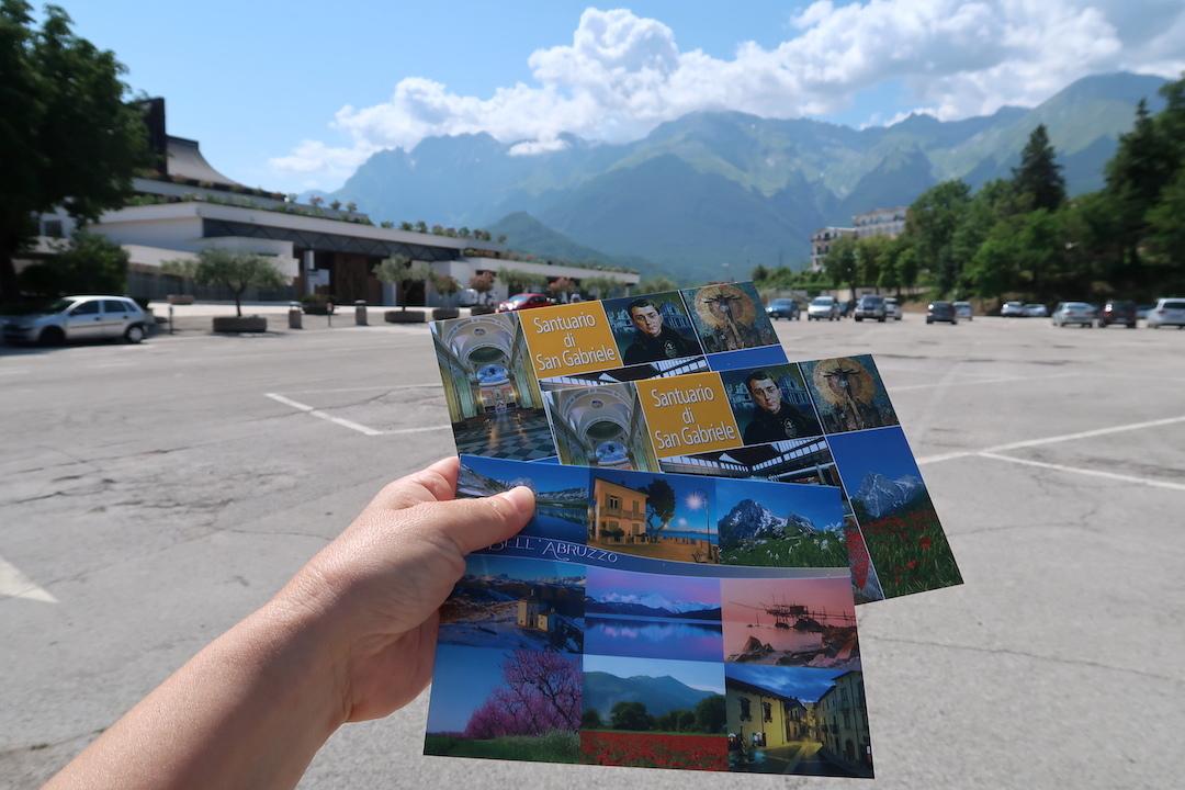 6日後もまだ届かない旅の絵はがき、イタリア 国内郵便_f0234936_23195747.jpg