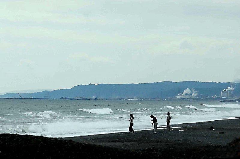鳴き砂の浜・・・・_d0244364_11222533.jpg