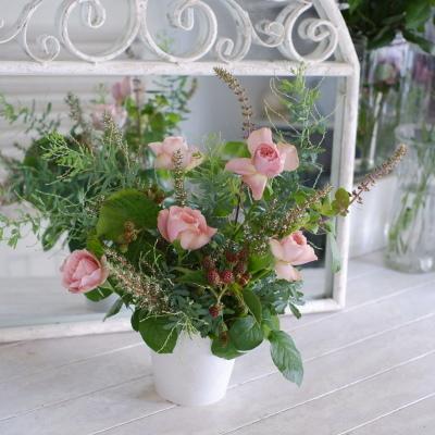 オークリーフ花の教室(白石さんの作品)_f0049672_20352422.jpg