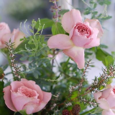 オークリーフ花の教室(白石さんの作品)_f0049672_20352847.jpg