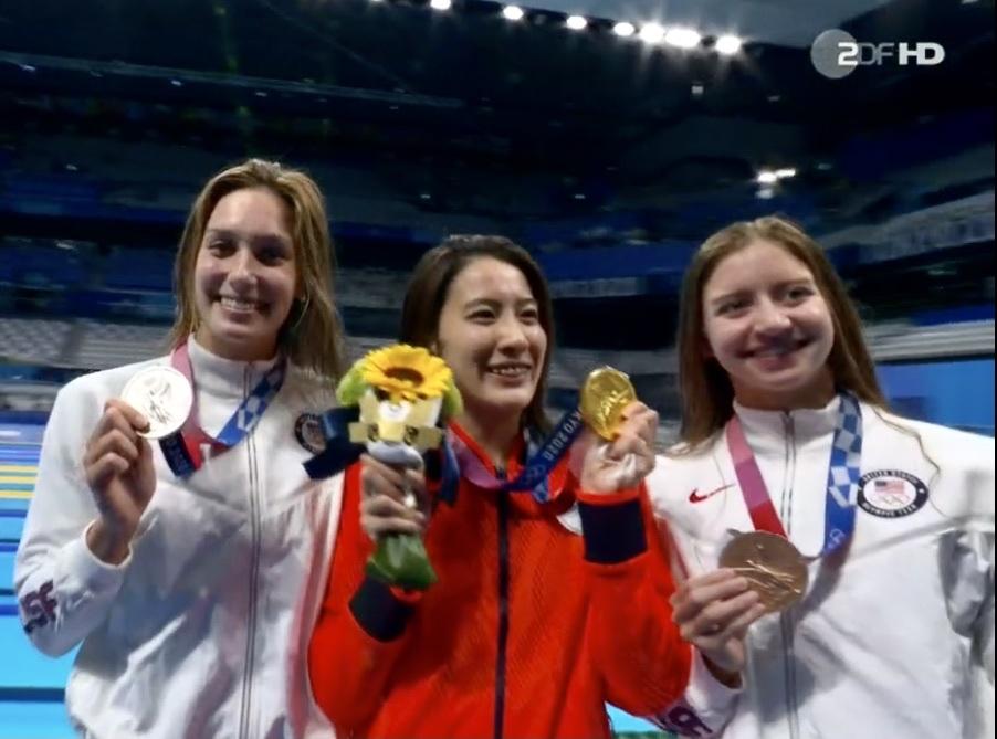 スゴイなー、女子競泳で金メダル2つ❣️_c0180686_15342965.jpeg