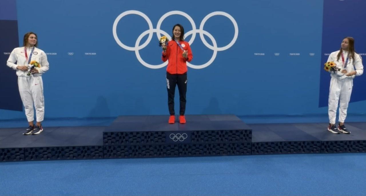 スゴイなー、女子競泳で金メダル2つ❣️_c0180686_15361143.jpeg