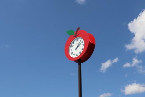 弘前アップルパイレシピBOOK発売記念パイプレート:弘前市りんご公園(弘前市)_b0147224_20585422.jpg