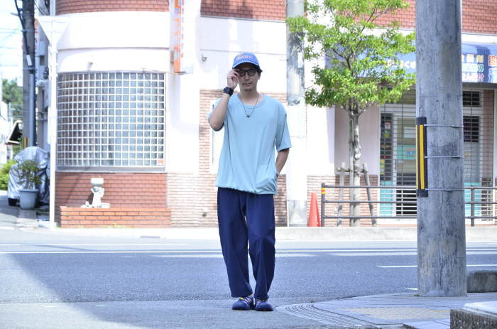 <<AXESQUIN DRAW STRING TEE>>Style~TKB~_c0167336_19384978.jpg