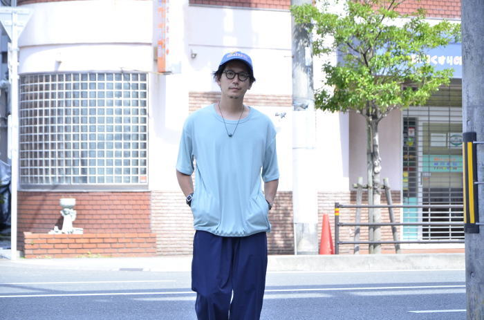 <<AXESQUIN DRAW STRING TEE>>Style~TKB~_c0167336_19394312.jpg