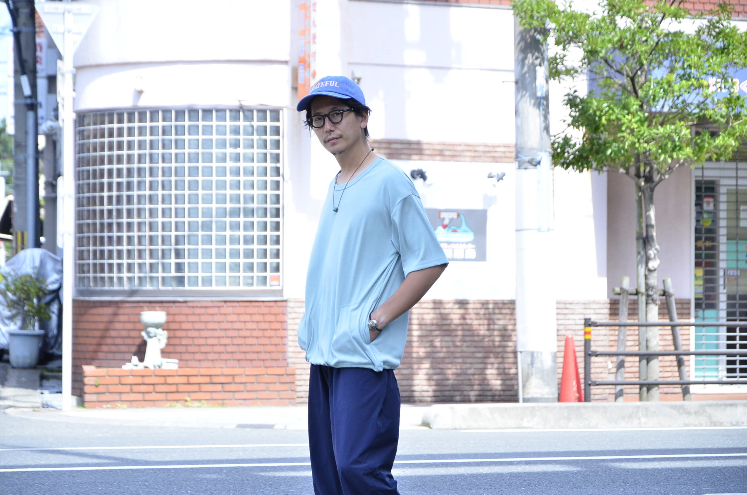 <<AXESQUIN DRAW STRING TEE>>Style~TKB~_c0167336_19394341.jpg