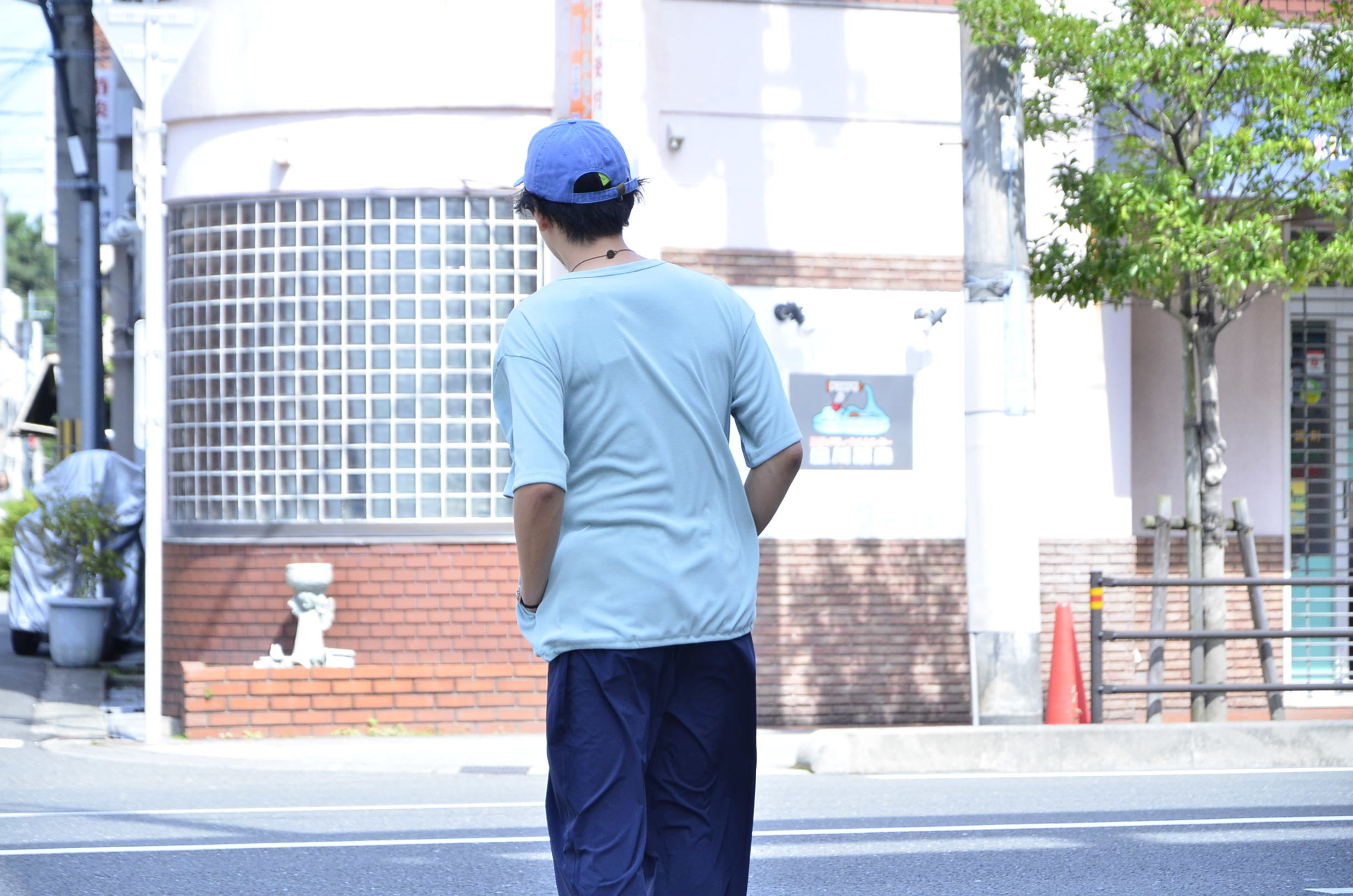 <<AXESQUIN DRAW STRING TEE>>Style~TKB~_c0167336_19394356.jpg