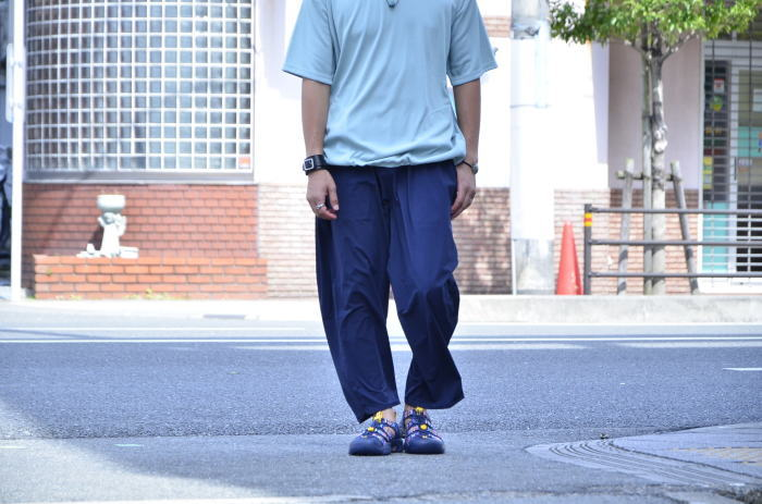 <<AXESQUIN DRAW STRING TEE>>Style~TKB~_c0167336_20190397.jpg