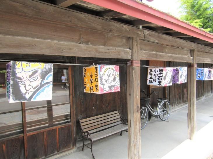 こみせ通りに「ねぷた灯籠」_b0219649_12101596.jpg