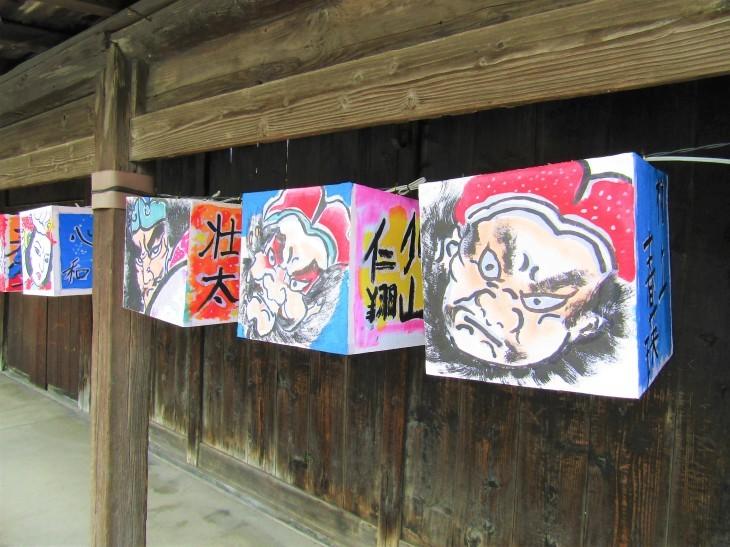 こみせ通りに「ねぷた灯籠」_b0219649_12103162.jpg