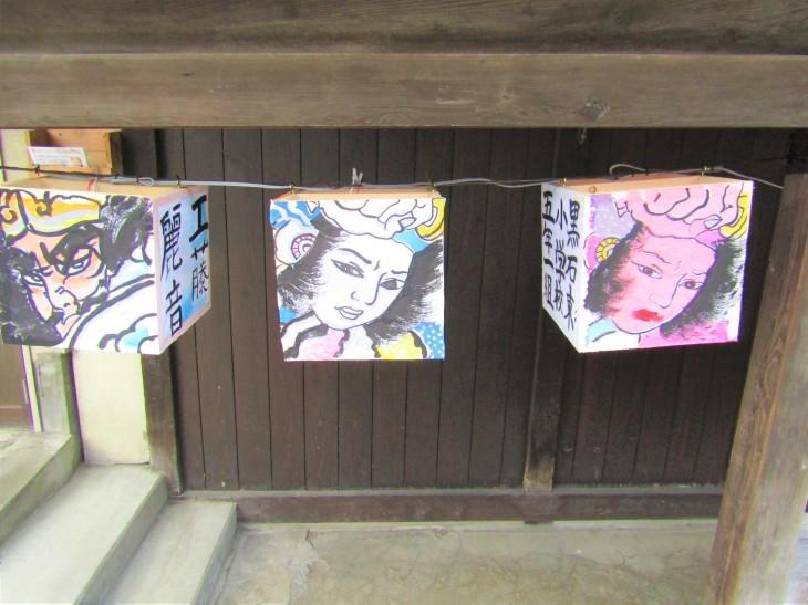 こみせ通りに「ねぷた灯籠」_b0219649_12103971.jpg
