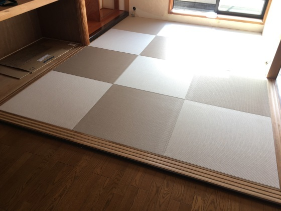 【世田谷区】44%off琉球畳の格安セール施工例&日記_b0142750_11023156.jpeg