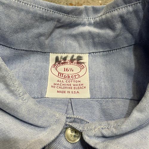 ◇  Brooks Brothers Shirts & Army Tee  ◇_c0059778_04123148.jpg
