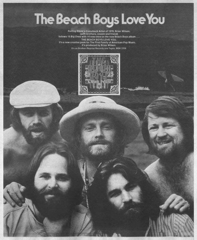 Beach Boys「Love You」(1977)_c0048418_06423214.jpg
