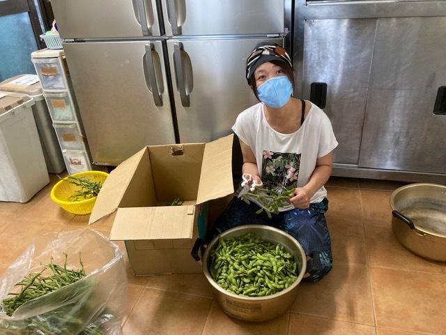 7月31日 枝豆いっぱい♪_b0158746_11042168.jpeg