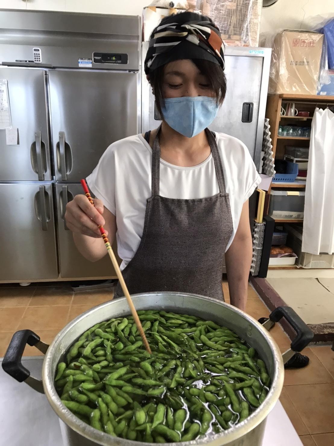 7月31日 枝豆いっぱい♪_b0158746_11042430.jpeg