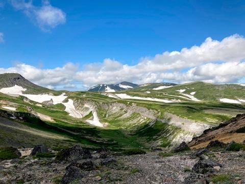 大雪山赤岳でヒグマにあう_e0405754_11215073.jpg
