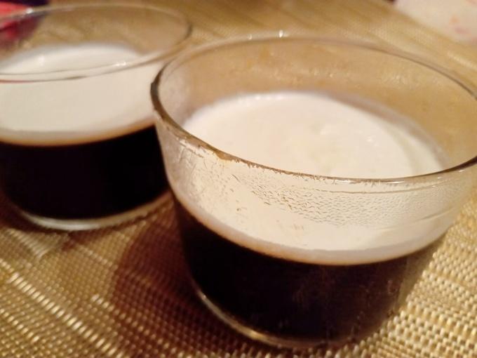 コーヒーゼリーとシマエナガ_f0035506_20295266.jpg
