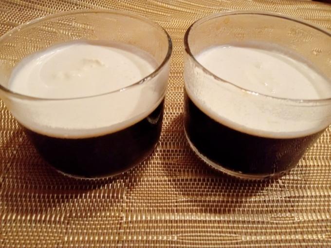 コーヒーゼリーとシマエナガ_f0035506_20301206.jpg