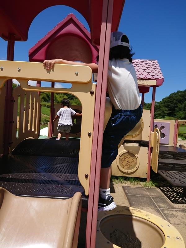 キックボードと公園_a0361310_15111965.jpg