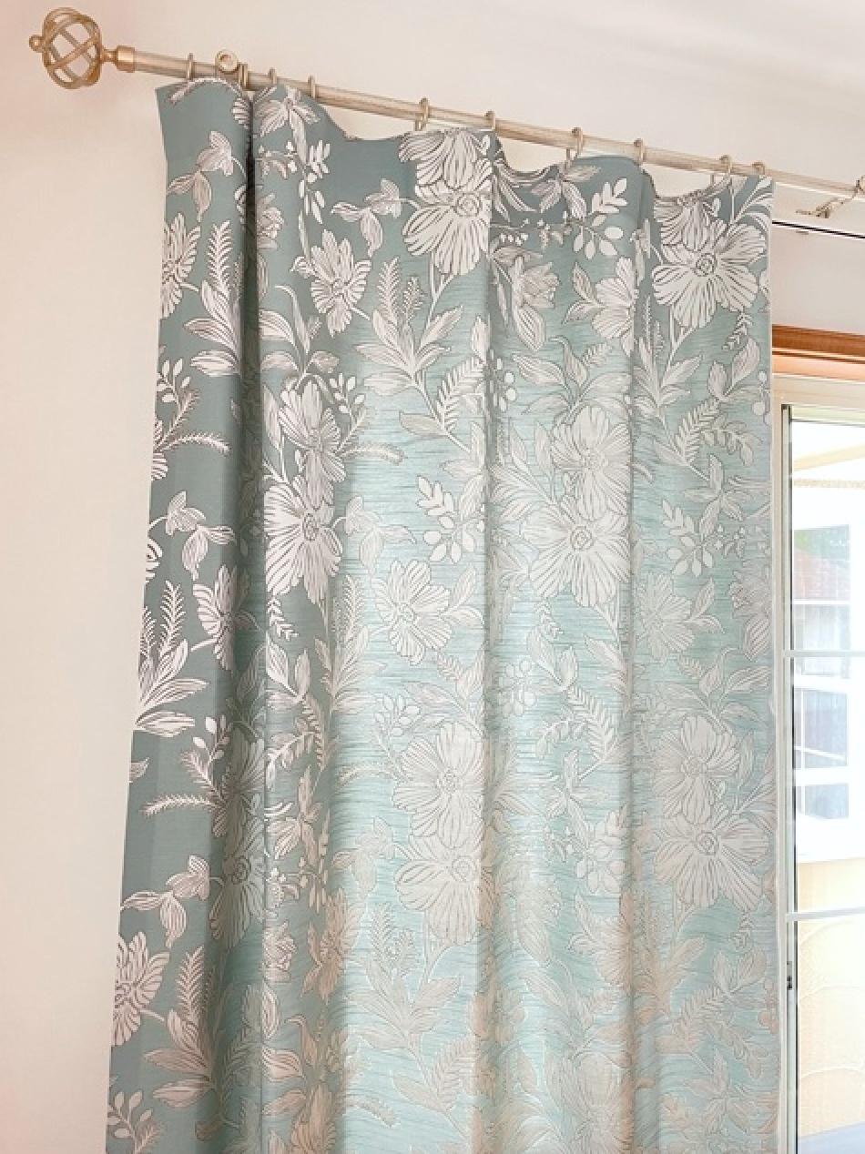 『STUDIOg』の『フラットカーテン』を納めました by interior styling of bright_c0157866_22424720.jpg