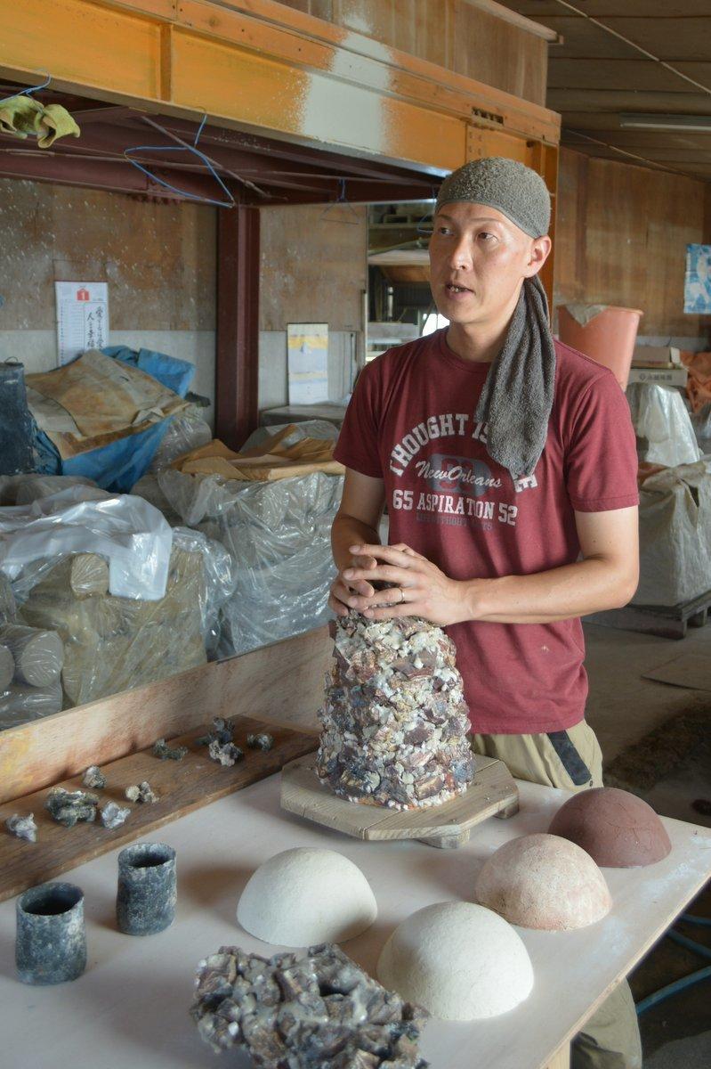 「カネ利陶料展 陶土製造業の誇り 4日目_d0087761_15014496.jpg