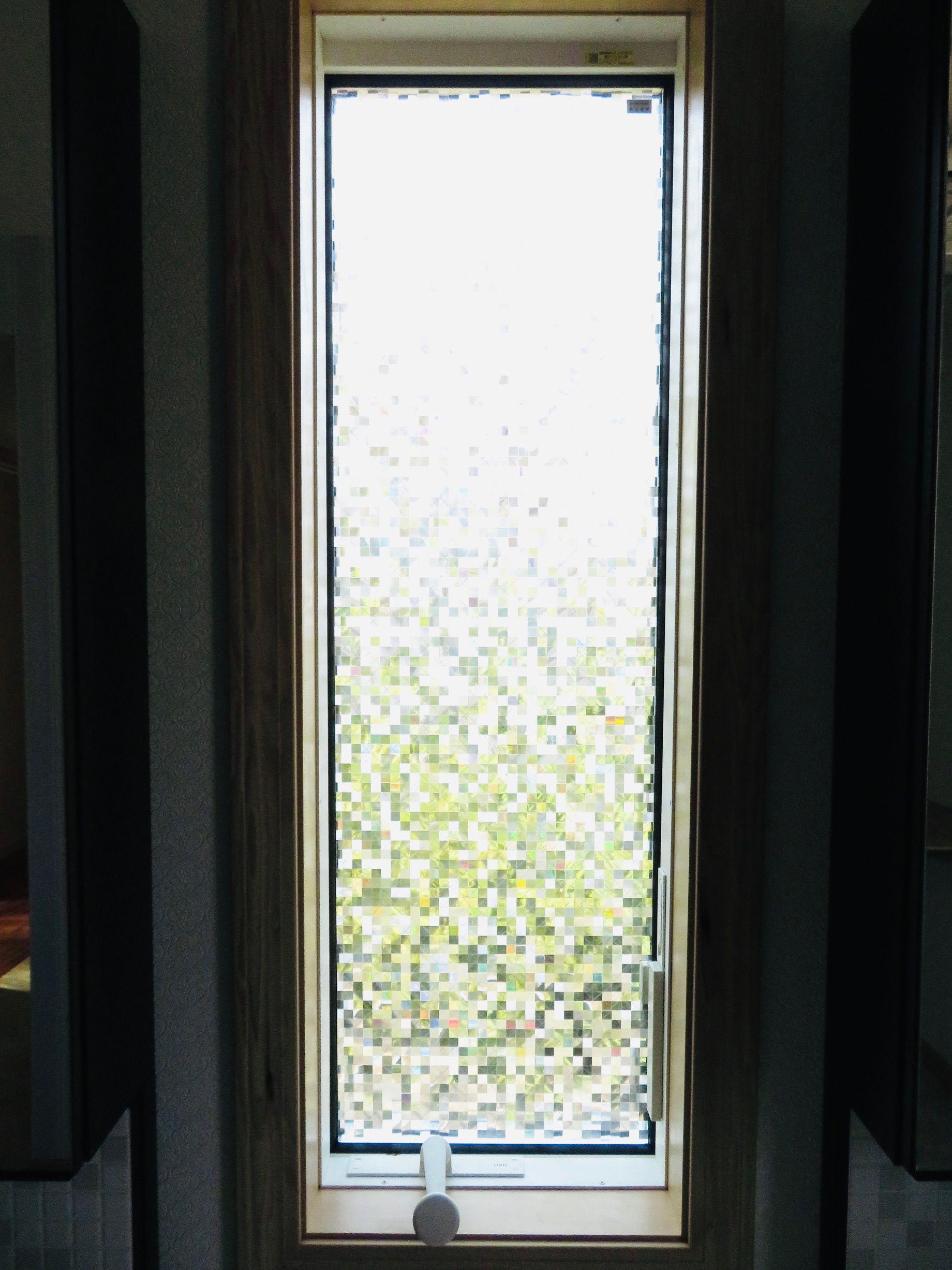 『サンゲツ』の『ガラスフィルム/クレアス』を施工しました by interior styling of bright_c0157866_14030966.jpg