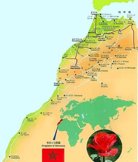 旅の追憶(110) モロッコ・サハラ砂漠の絵_d0140806_10260979.jpg
