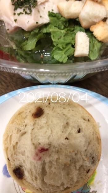 2021/08/04 昼 血糖値&インスリン注射&食事写真_b0056758_23273470.jpg