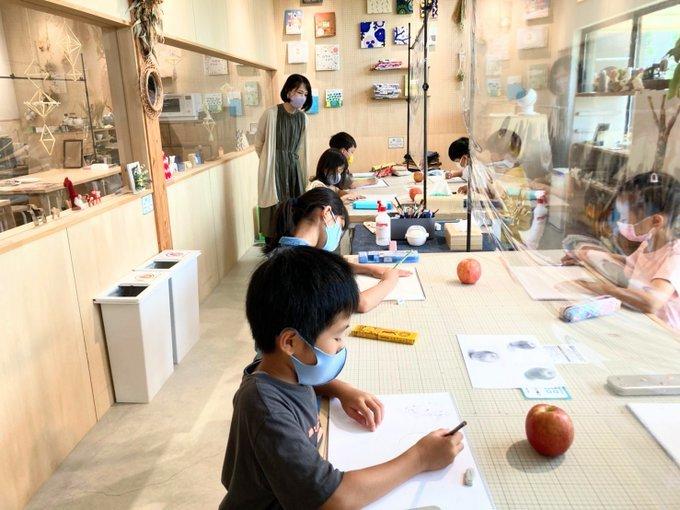 月1回 ナシエ子ども絵画教室 2回目生徒募集_f0125068_16133879.jpg