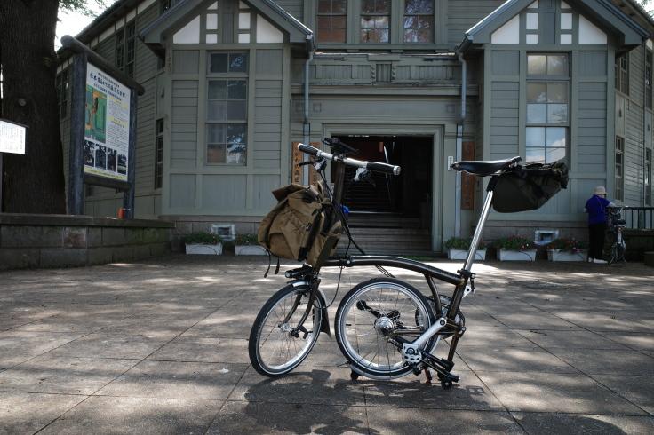 ブロンプトンと夏の長野県へ その4 ~ あがたの森文化会館  松本民芸館_a0287336_17372805.jpg