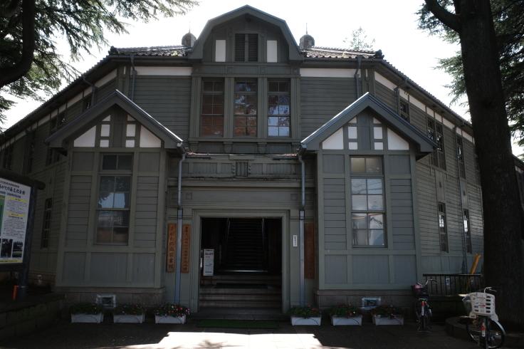 ブロンプトンと夏の長野県へ その4 ~ あがたの森文化会館  松本民芸館_a0287336_17542324.jpg
