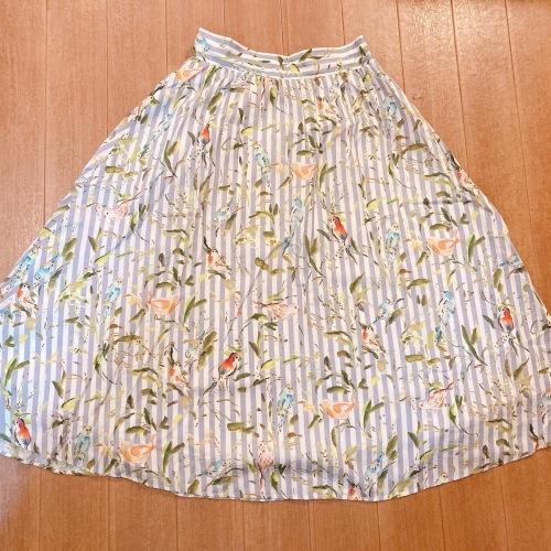スカートを再利用したブラウス (セミオーダー)_b0199696_11474258.jpg