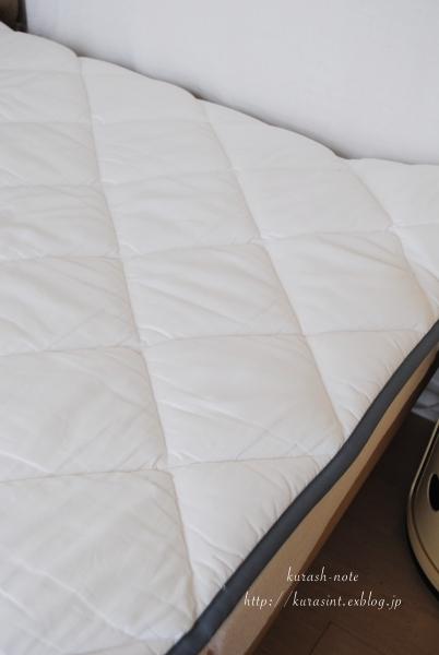 レビューで高評価 * ベルメゾンのタモ材すのこベッド_b0351624_21153073.jpg