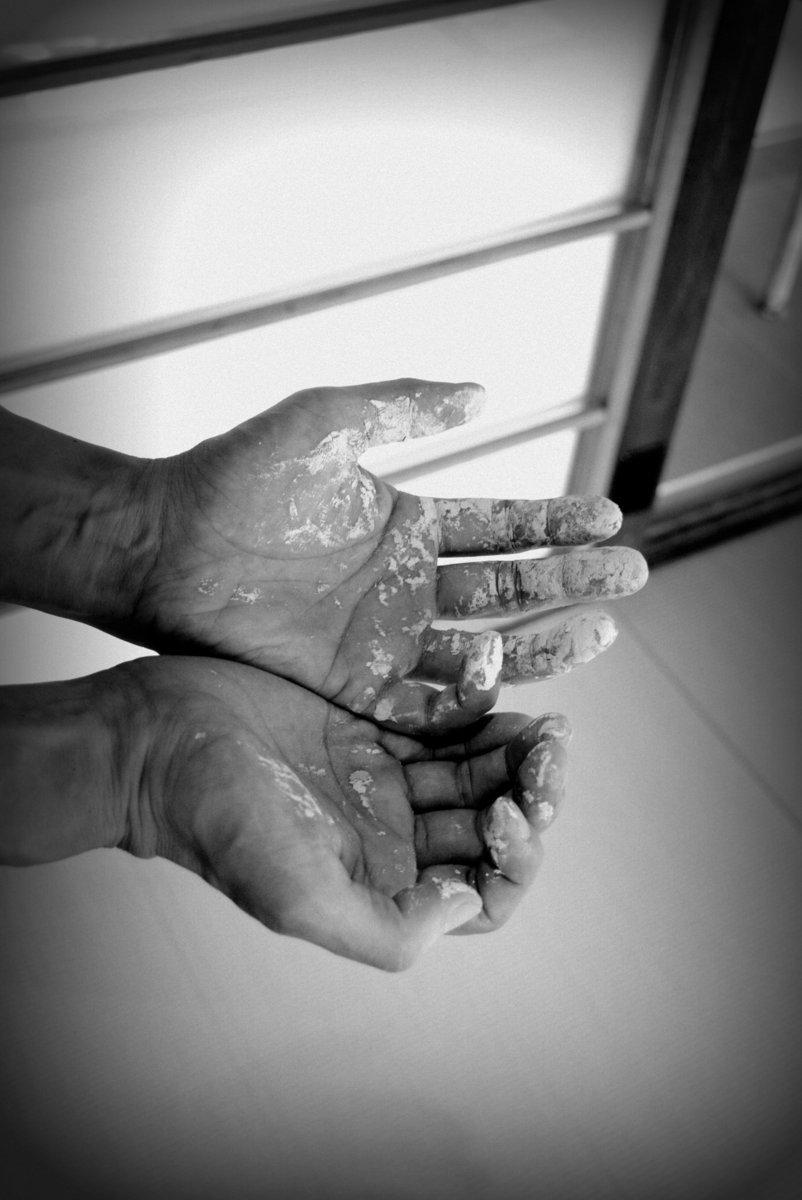 「カネ利陶料展 陶土製造業の誇り」ありがとうございました_d0087761_13191323.jpg