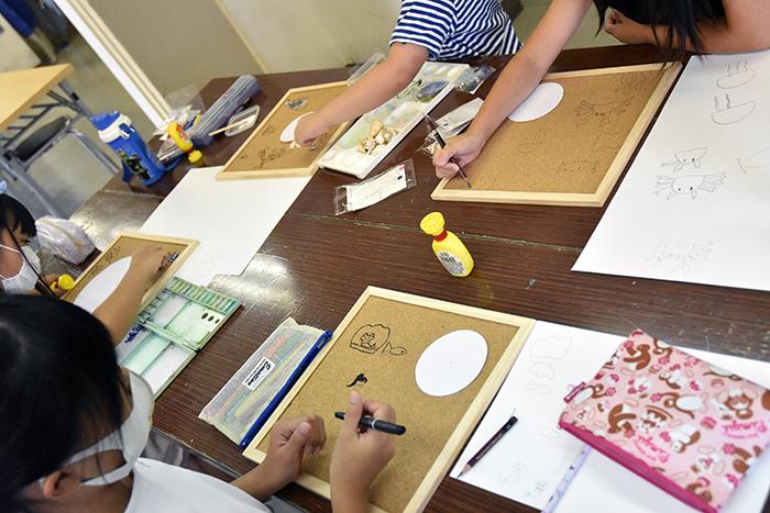 夏の体験講座2021「モザイクアートの掛け時計を作ろう!」ご紹介_b0212226_10564600.jpg