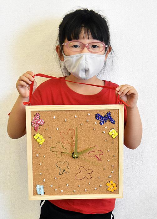 夏の体験講座2021「モザイクアートの掛け時計を作ろう!」ご紹介_b0212226_11115605.jpg