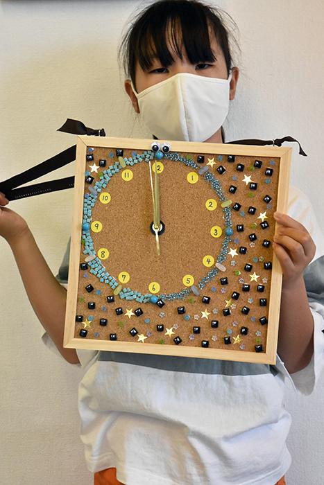 夏の体験講座2021「モザイクアートの掛け時計を作ろう!」ご紹介_b0212226_11135412.jpg