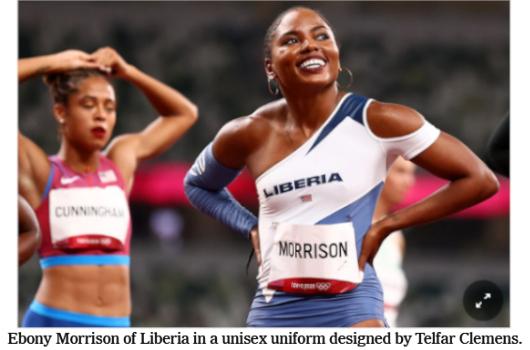 東京オリンピックから、ファッションの金メダル_b0007805_08320231.jpg