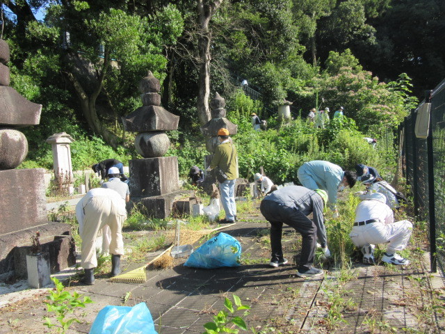 水野家四代の墓を清掃しました_d0247833_11530018.jpg