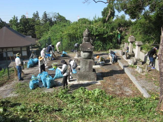 水野家四代の墓を清掃しました_d0247833_11545339.jpg