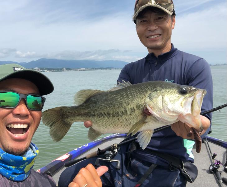 再び琵琶湖攻略スタート!_e0100021_21074063.jpg