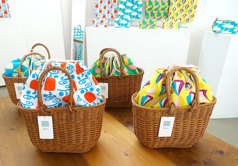 【Kayoko Kawata「コレマデモ コレカラモ」Zakuro original print textile展】_a0017350_07262438.jpg