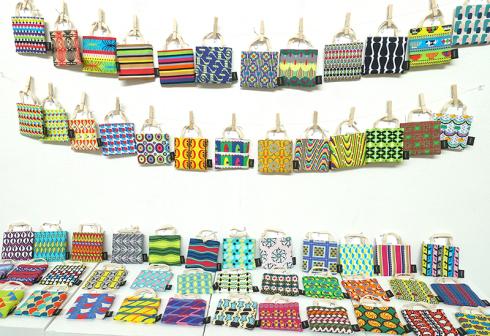 【Kayoko Kawata「コレマデモ コレカラモ」Zakuro original print textile展】_a0017350_07263670.jpg