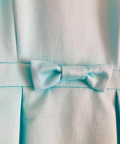 袖にタックの入ったウエスト切り替えワンピース (フルオーダー)_b0199696_13453803.jpg