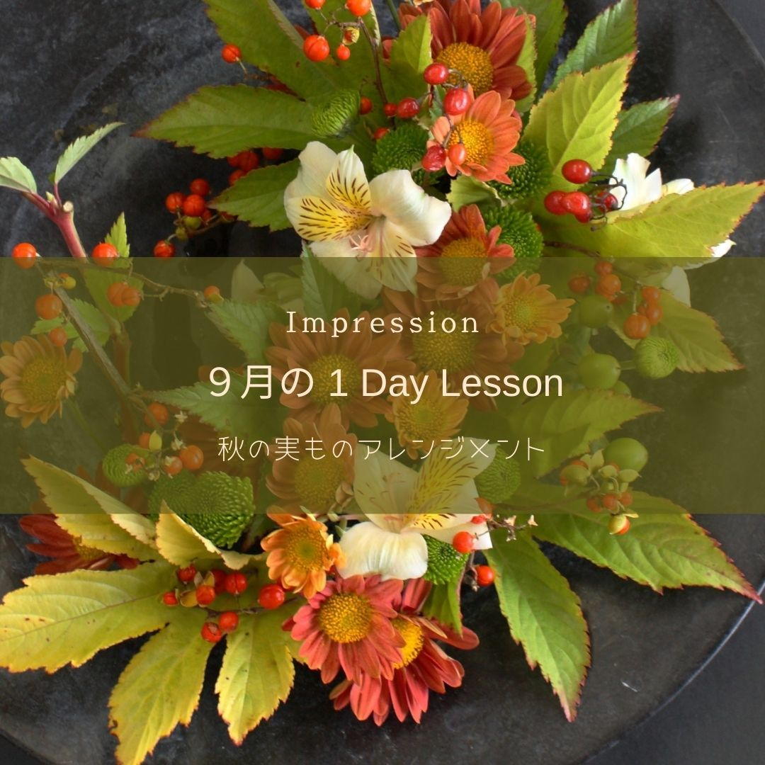 2021 9月の 1 Day Lesson のお知らせ_a0085317_22331283.jpg