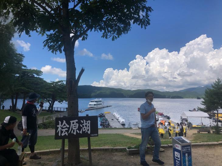 桧原湖ガイドツアー最終日_e0100021_22461700.jpg