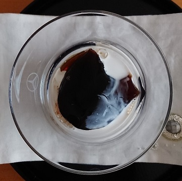 ガトーフェスハラダの コーヒーゼリー_a0264383_16511944.jpg