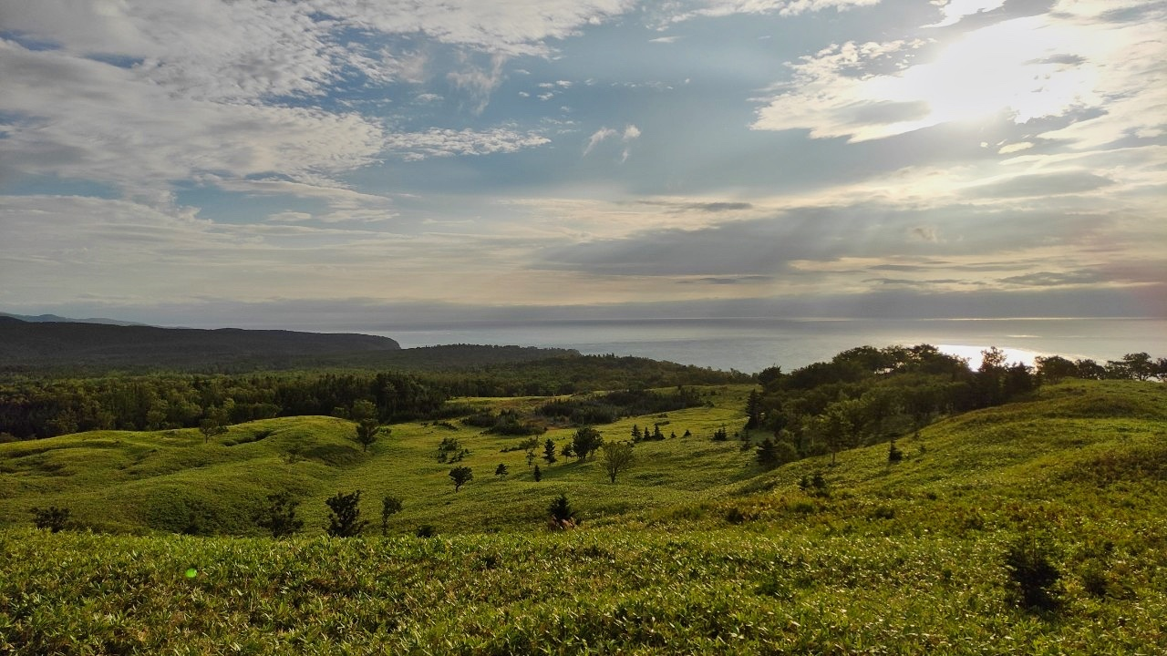ただただ美しかった夕刻の知床五湖 - Shiretoko five lakes landscape_b0108109_20474548.jpeg